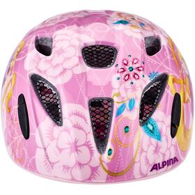Alpina Ximo Disney Kask rowerowy Dzieci, rapunzel